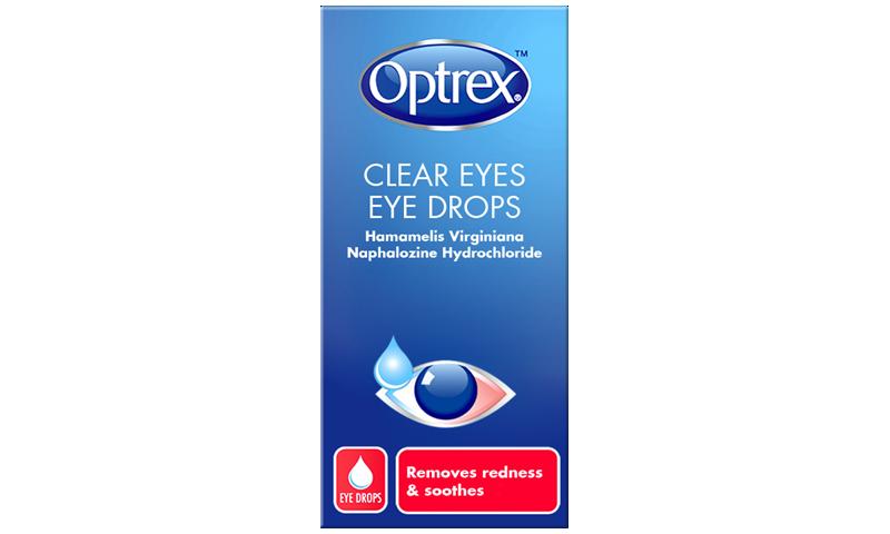 OPTREX CLEAR EYES 10ML