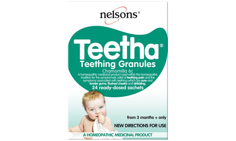 NELSONS TEETHA GRANULES 24S