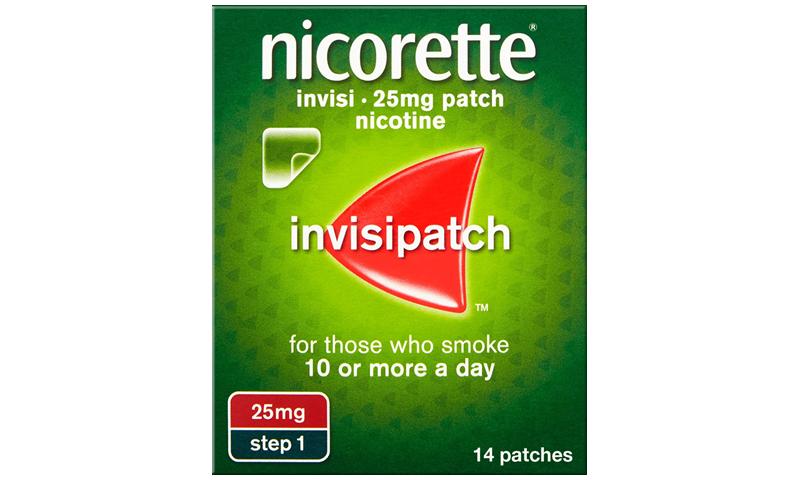 NICORETTE INVISIBLE PATCH 25MG 14