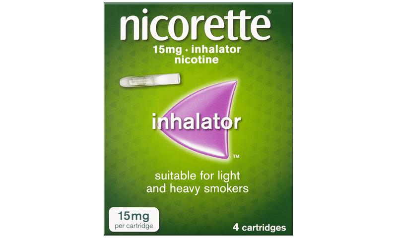 NICORETTE INHALER 15MG 4