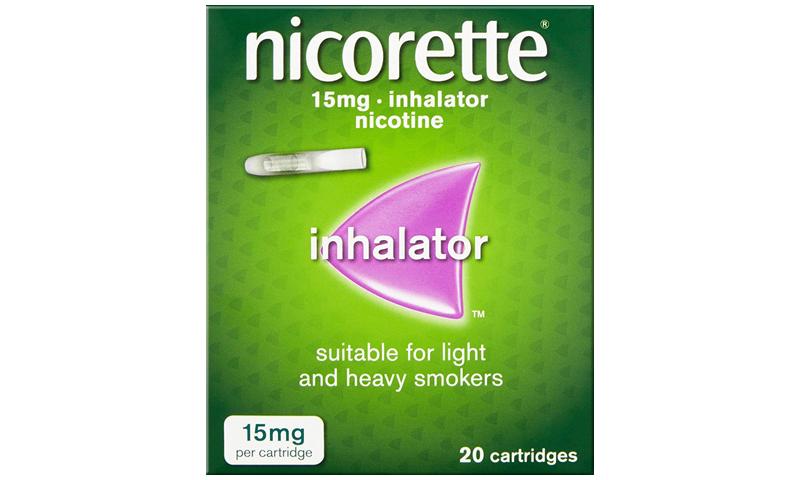 NICORETTE INHALER 15MG 20