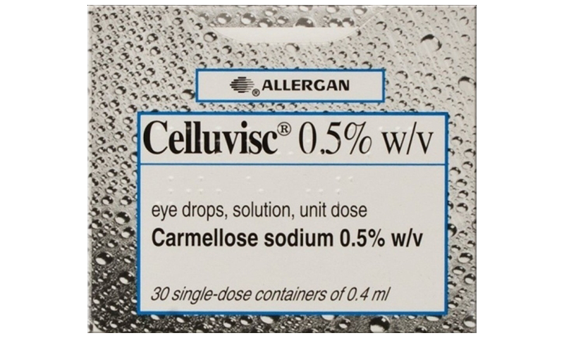 CELLUVISC EYE DROPS 0.5% X 0.4ML 30S