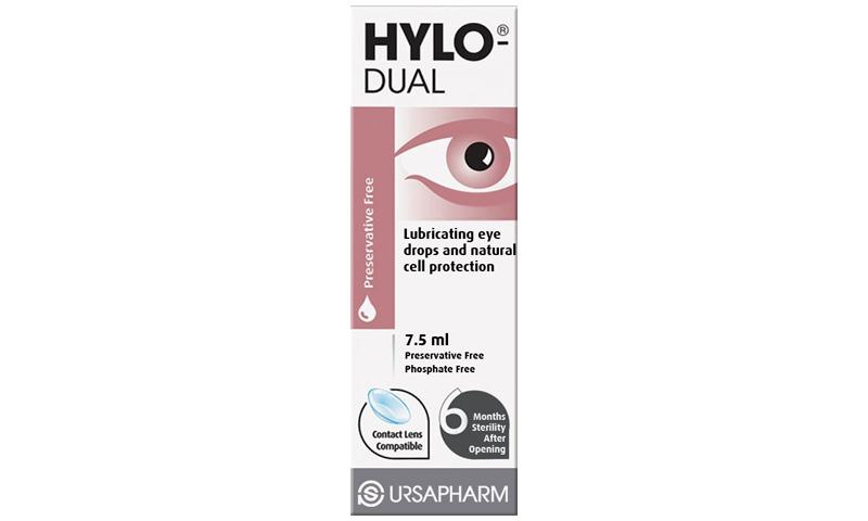 HYLO-DUAL PRESERV FREE EYE DROPS 7.5ML