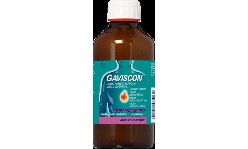 GAVISCON ANISEED LIQUID 600ML