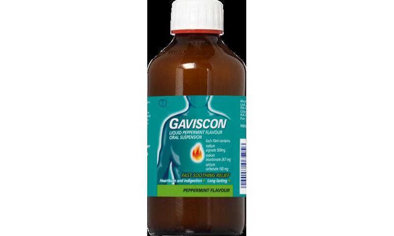 GAVISCON PEPPERMINT LIQUID 600ML