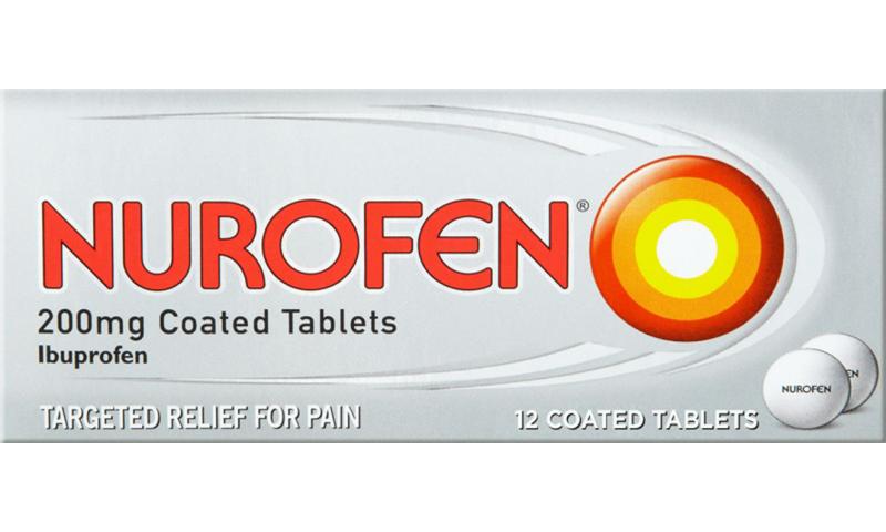 Nurofen 200mg Coated Tablets 12pk