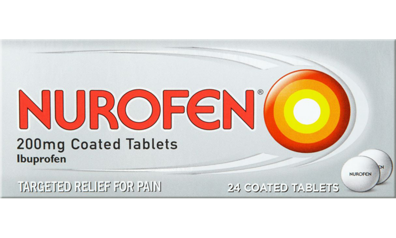 Nurofen 200mg Coated Tablets 24pk