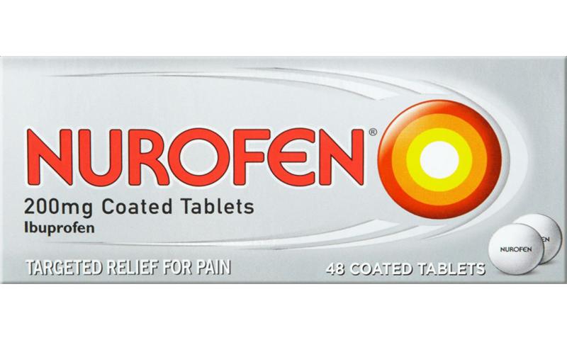 Nurofen 200mg Coated Tablets 48pk