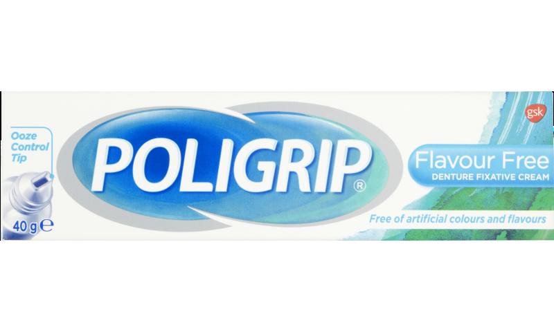 POLIGRIP FLAVOUR FREE 40G