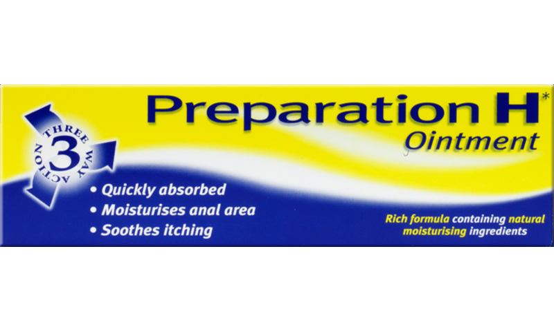 PREPARATION H CLEAR OINTMENT 25G