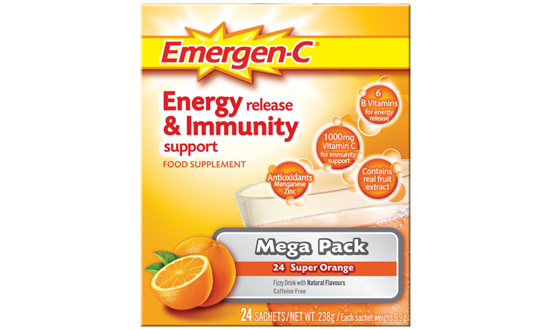 EMERGEN-C ORANGE 24