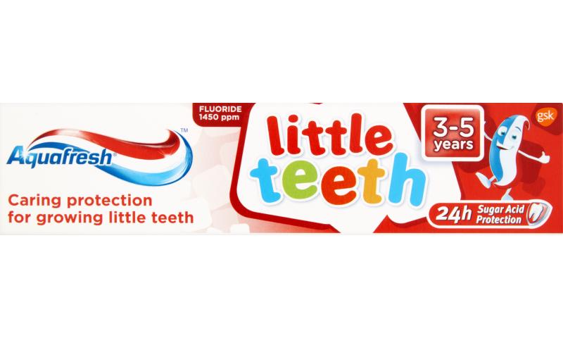 AQUAFRESH LITTLE TEETH T/PASTE 3-5Y 50ML