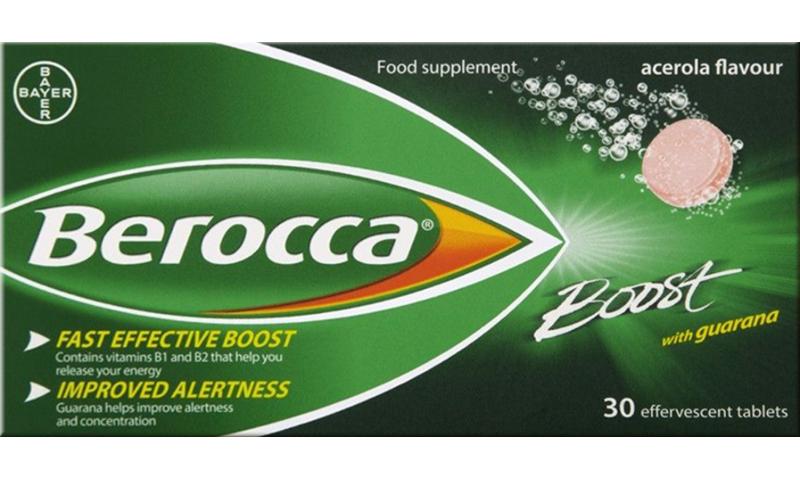 BEROCCA EFF TABS BOOST 30S
