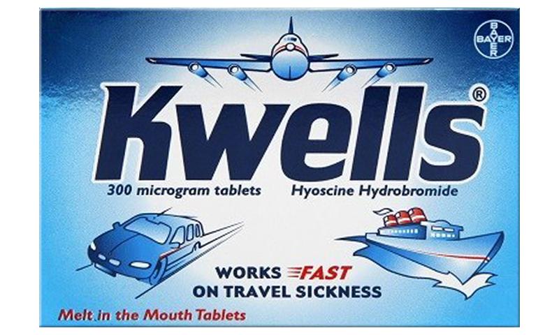 KWELLS TRAVEL SICK TABLETS 12