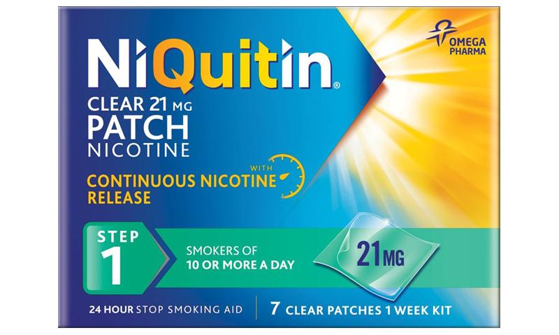 NIQUITIN CQ CLEAR 21MG STEP 1 7