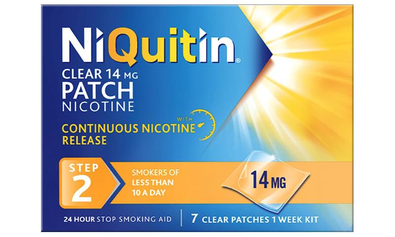 NIQUITIN CQ CLEAR 14MG STEP 2 7