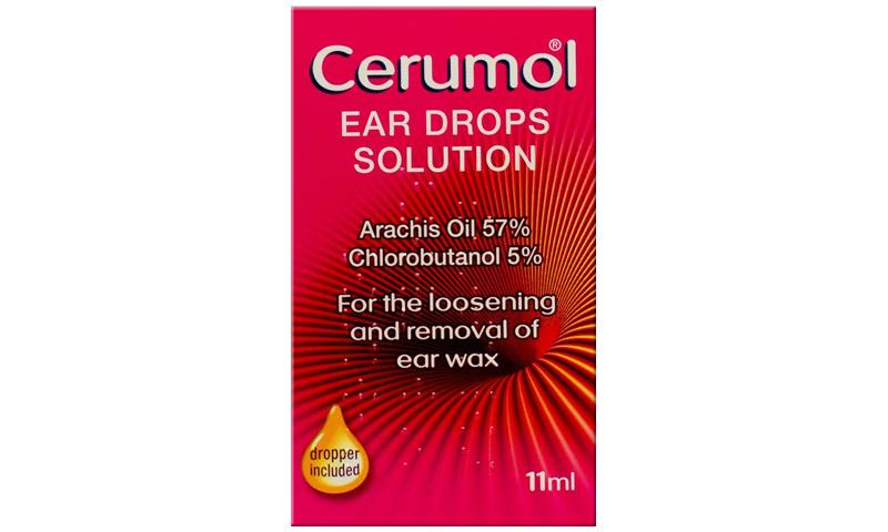 CERUMOL EAR DROPS 11ML