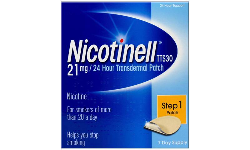 NICOTINELL TTS 30 21MG 7S