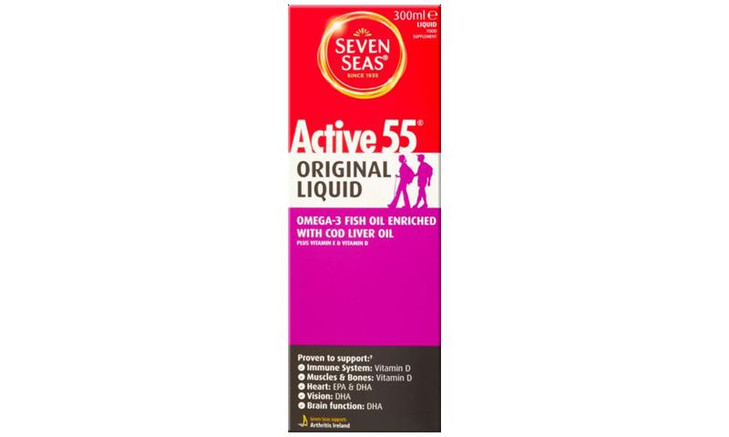 SEVEN SEAS ACTIVE 55 CLO LIQ 300ML
