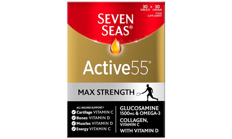 SEVEN SEAS ACTIVE 55 MAX STRENGTH 60S