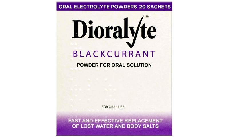 DIORALYTE BLACKCURRENT 20S