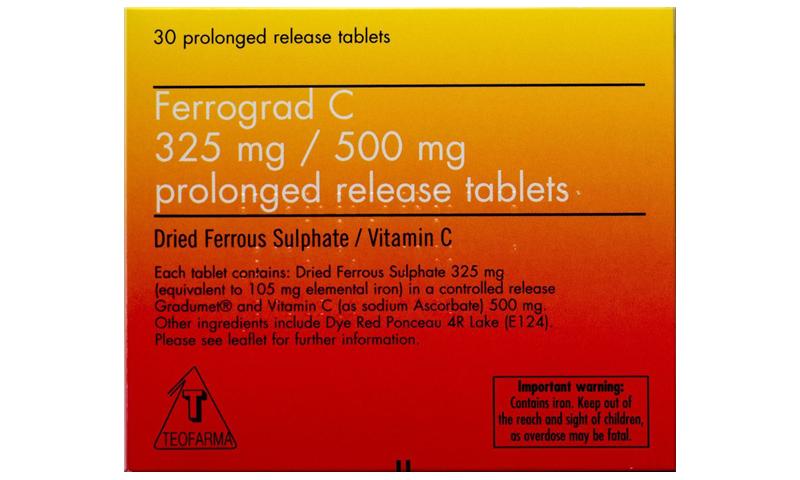 FERROGRAD C TABS 30S