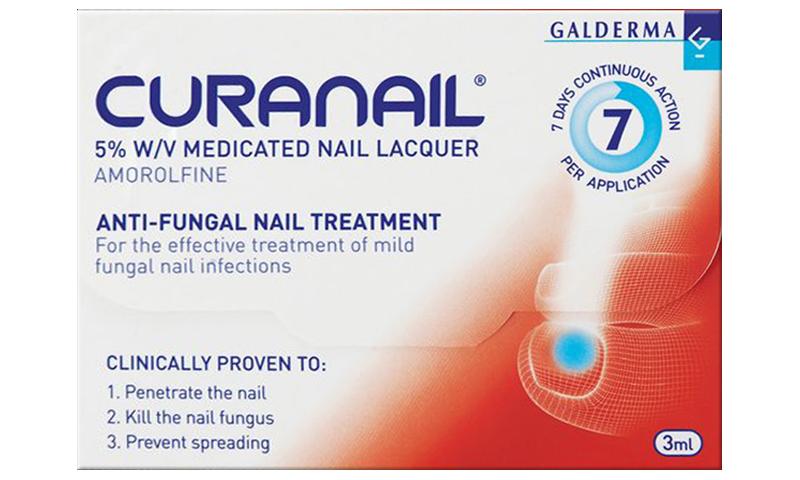 CURANAIL MEDICATED NAIL LACQUER 5% 2.5M