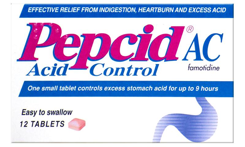 PEPCID AC TABLETS 12S