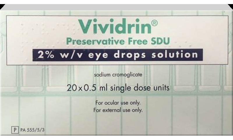 VIVIDRIN SDU STERILE EYE DROPS 5ML