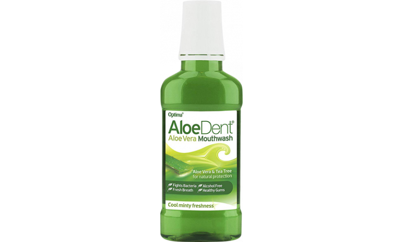 ALOE DENT M/WASH EX STRONG MINTY 250ML