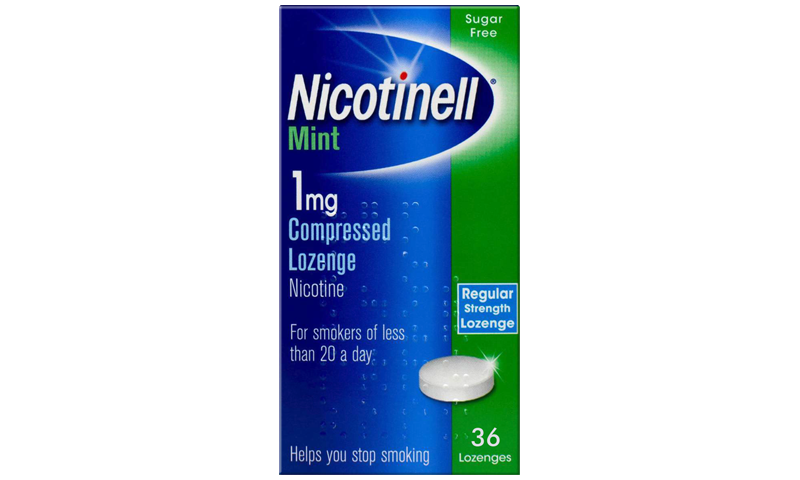 NICOTINELL LOZ 1MG MINT 36S