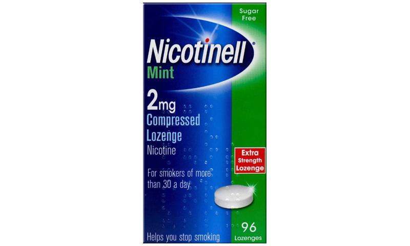 NICOTINELL LOZ 2MG MINT 96S