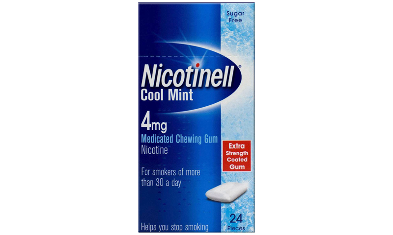 NICOTINELL GUM MINT 4MG 24S