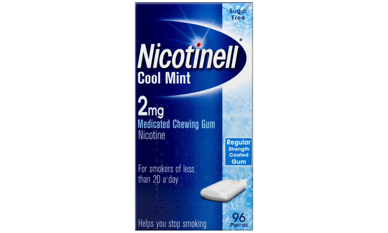NICOTINELL GUM MINT 2MG 96S