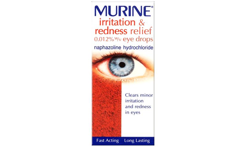 MURINE IRRITATION & REDNESS DROPS 10ML