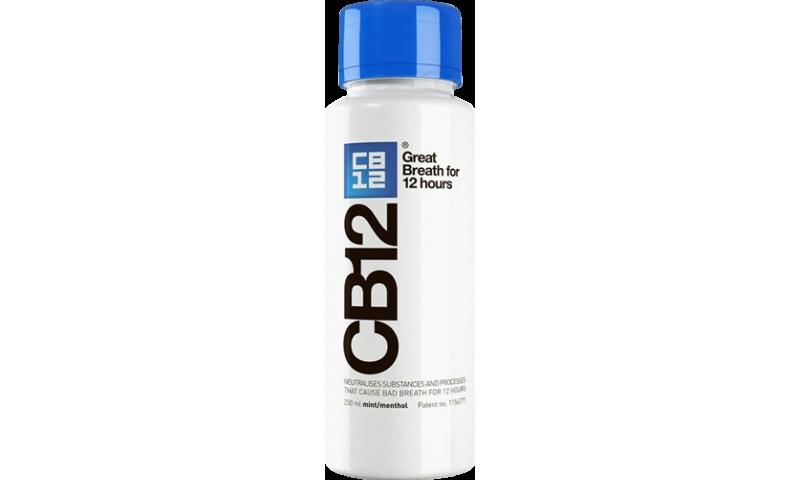 CB12 M/WASH MINT MENTOL 250ML