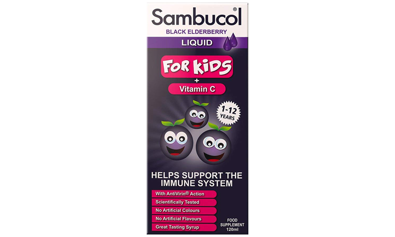 SAMBUCOL TONIC LIQUID KIDS 120ML