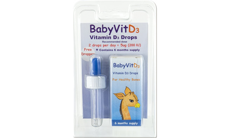 BABY VIT D3 10ML