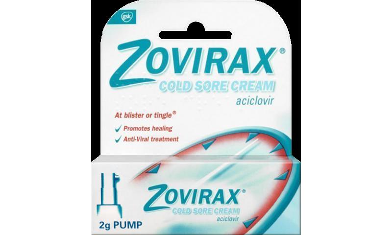 ZOVIRAX CREAM PUMP 2MG