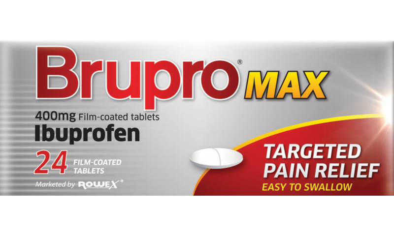 Brupro Max 400mg Film Coated Tablets 24pk