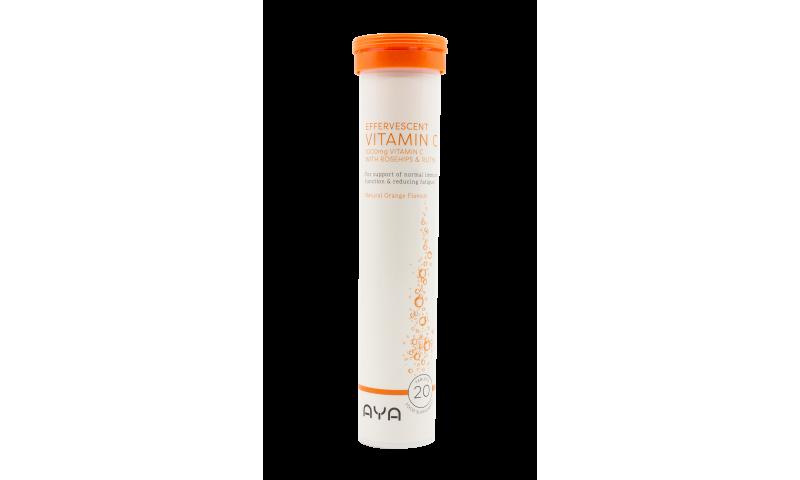 AYA Vitamin C Effervescent 20s