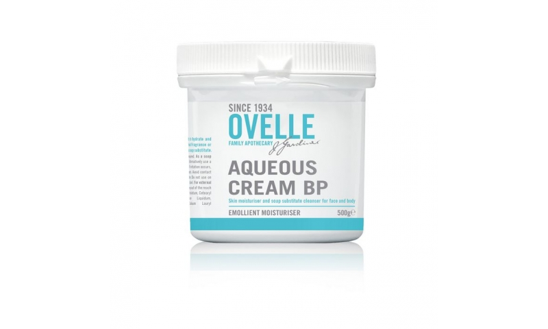 Ovelle Aqueous Cream BP 500g