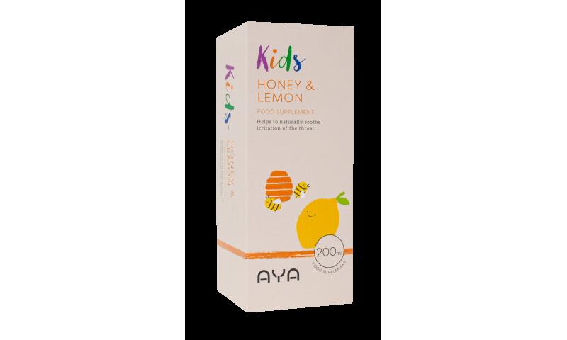 AYA Kids Honey & Lemon 200ml
