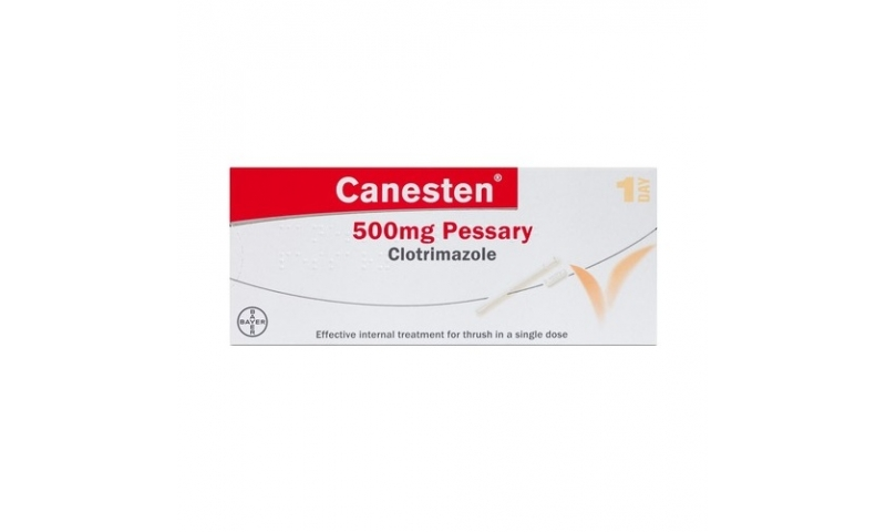 CANESTEN PESSARY 500MG 1S