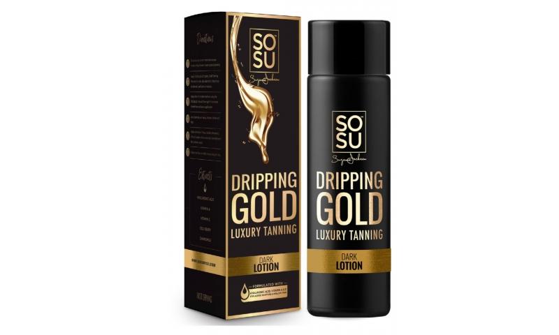 SOSU DRIPPING GOLD LOTION DARK 200ml