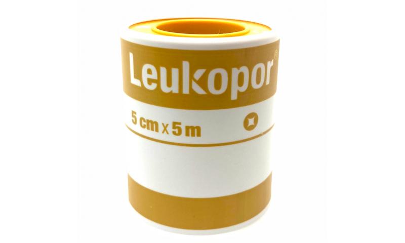 BSN LEUKOPOR TAPE 5CM X 5M (paper tape)