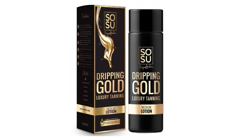 SOSU DRIPPING GOLD LOTION MEDIUM 200ml