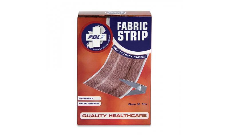 PharmaCare FABRIC DRESSING STRIP 1m x 6cm