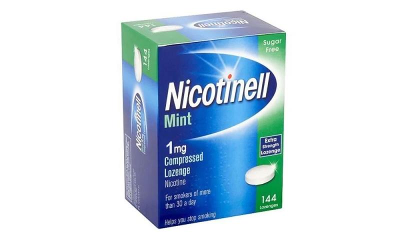 NICOTINELL 1MG MINT LOZX144