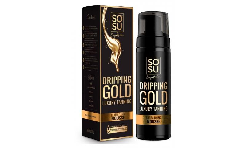 SOSU DRIPPING GOLD  ULTRA DARK MOUSSE 150ml